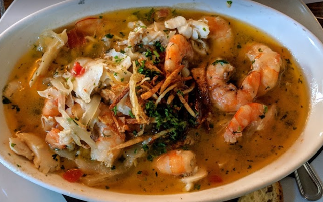 shrimp crab soup